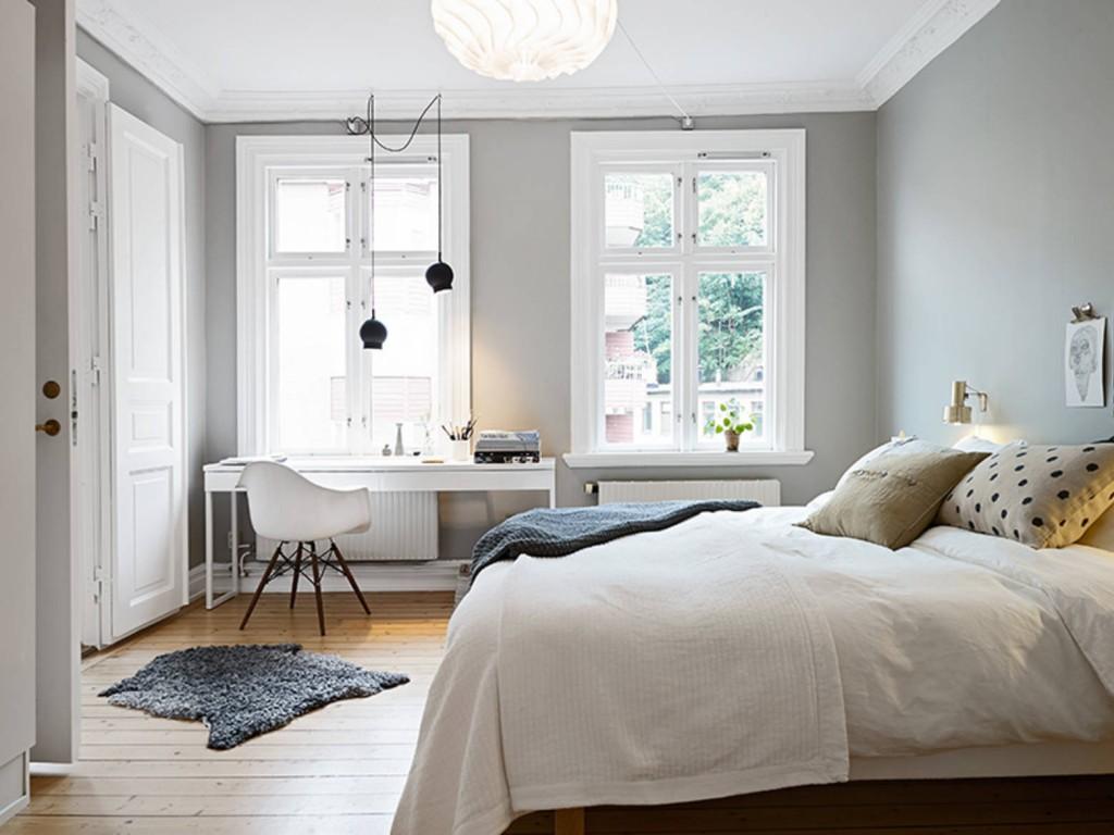 De trends voor de slaapkamer vnu net - Grijze slaapkamer ...